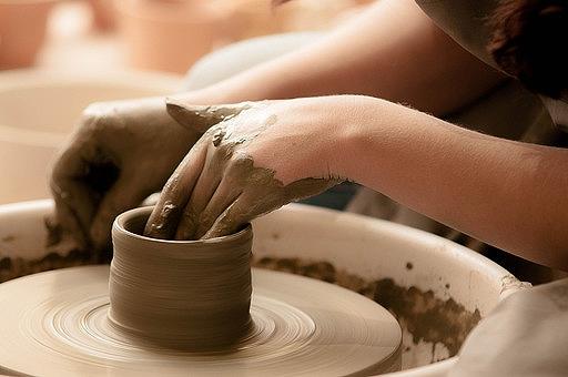 陶芸の画像です