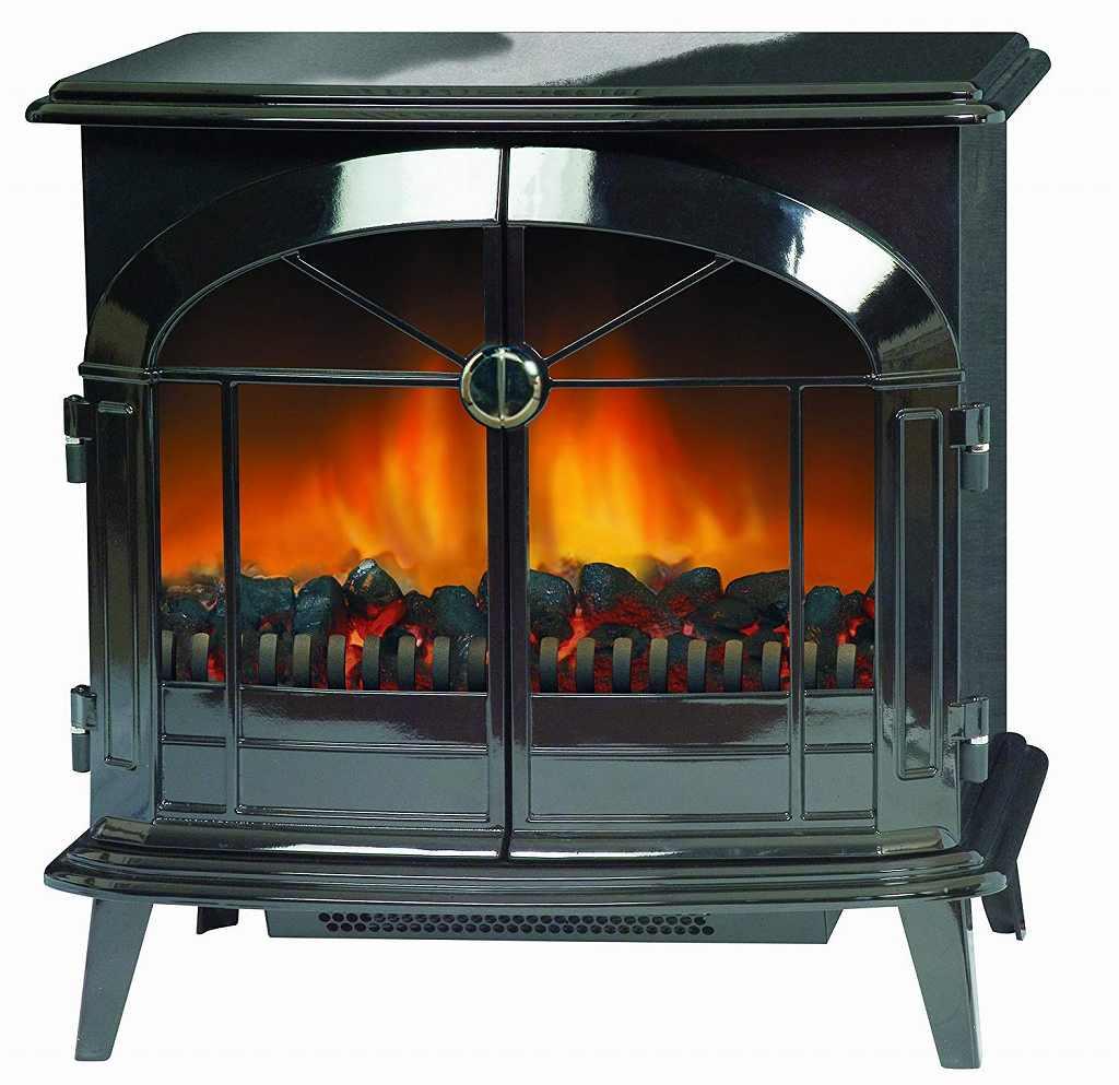 電気暖炉の画像です