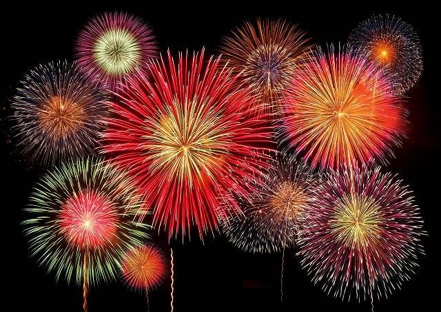 花火大会のイメージ画像です