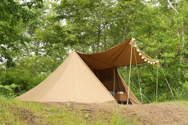テントの画像です