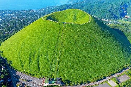 伊豆高原 大室山の画像です