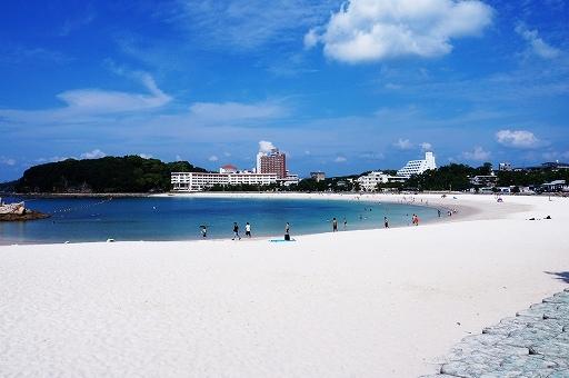 白良浜の画像です