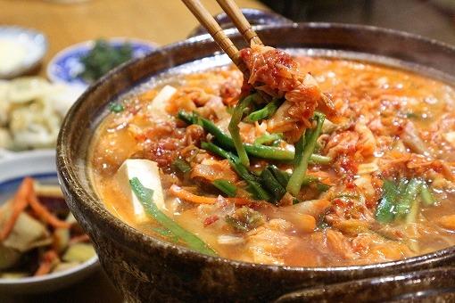キムチ鍋の画像です