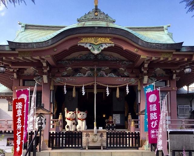 今戸神社の画像です