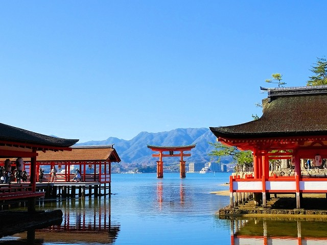 厳島神社の画像です