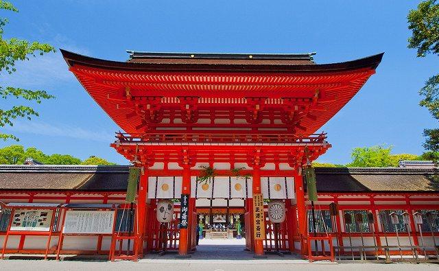 下鴨神社の画像です