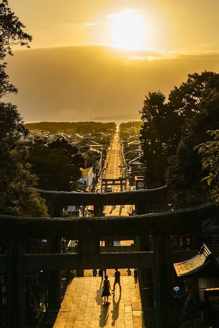 光の道の画像です
