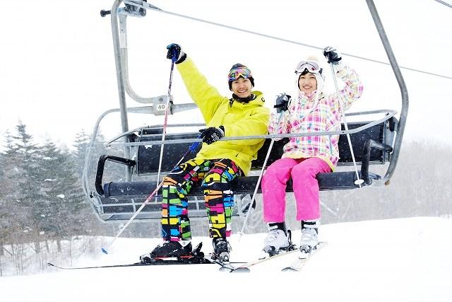スキー場の写真です