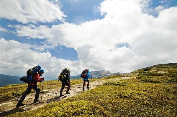ハイキングの画像です